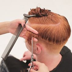 Men's Overdirected Clipper Cut from TONIandGUY - Behindthechair.com Simply Hairstyles, Young Mens Hairstyles, Trending Hairstyles, Short Hairstyles For Women, Haircuts For Men, Latino Haircuts, Men's Hairstyles, Blonde Pixie Cuts, Short Hair Cuts