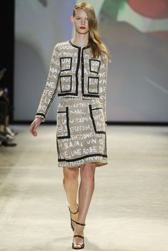 Jean-Charles de Castelbajac Spring 2014 | Paris fashion week