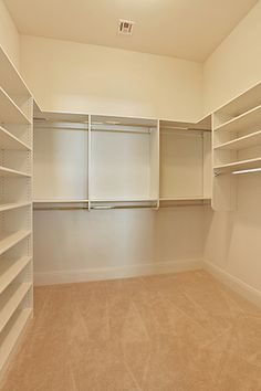 Custom Master Closet East Street, Covington, Louisiana - Ron Lee Homes Walk In Closet Design, Bedroom Closet Design, Closet Designs, Closet Renovation, Closet Remodel, Master Bedroom Bathroom, Master Closet, Small Closets, Dream Closets