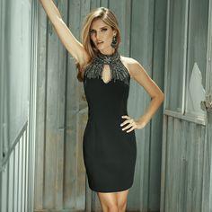 Vai sair a noite? Esse é sem dúvida o 'dress' perfeito para você ARRASAR!!! #reginasalomao #BeYourSelf #AW16