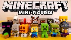 minecraft mini-figures