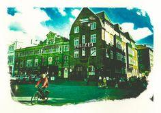 'Hamburg+Davidwache'+von+liga-visuell+bei+artflakes.com+als+Poster+oder+Kunstdruck+$17.33