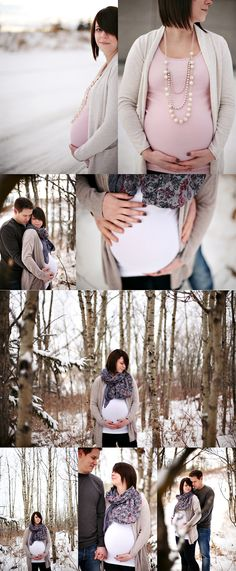 winter maternity session.  won't be snowing, but we better hurry before he gets here!