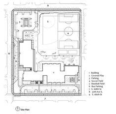 McMicken Elementary School,Site Plan
