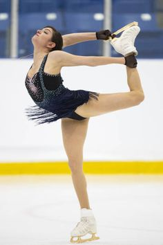 Russia's Evgenia Medvedeva skates her short program in the ladies competition at the 2018 Skate Canada Autumn Classic event in Oakville Ontario on...