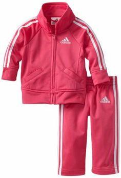 adidas Baby-Girls Infant ITG Iconic Tricot Set, Bright Pink, 18 Months adidas,http://www.amazon.com/dp/B008BBBZUO/ref=cm_sw_r_pi_dp_SKcPrb1DF33B44A4