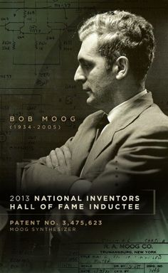 Bob Moog Inducted into Inventors Hall of Fame Moog Synthesizer, Doctor Robert, Keyboard Piano, Studio Equipment, Drum Machine, Owl City, People Of Interest, Music Like, Bob