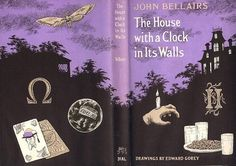Eli Roth to direct Jack Black in THE HOUSE WITH A CLOCK IN ITS WALLS adaptation! So Gorey! Jack Black returns to juvenile horror!