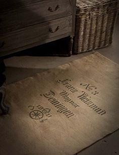 The Beautiful Life: FOR THE LOVE OF BURLAP - GRAIN SACK CHIC!