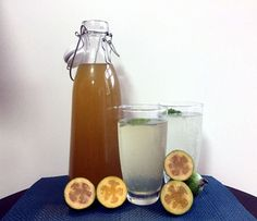 You really can have your feijoas and eat them too. This feijoa cordial uses the . - You really can have your feijoas and eat them too. This feijoa cordial uses the feijoa skins which - Fejoa Recipes, Guava Recipes, Fruit Recipes, Cooking Recipes, Drink Recipes, Dessert Recipes, Healthy Recipes, Desserts, Cordial