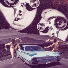 Khan Nova - #art #artwork #abstract #design #space #universe #stars #nigth #moutain #rock #road #mad #couple #nude #car #skyliner #stalker #from #outerspace #camera #lomo #moebius #cut #collage #ficha