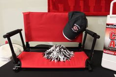 Don't forget about our deluxe stadium chairs! We now offer carrying bags for the chairs ($14.99) and padded arm rests ($15.00) too! Cheer on the #ClintonArrows in comfort this season! #ArrowNation