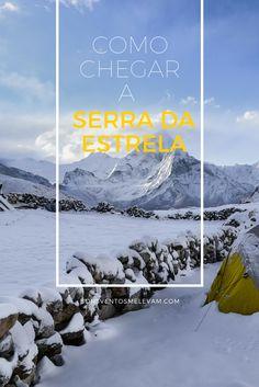 Como chegar à Serra da Estrela em Portugal de trem, ônibus ou carro - Se você está em Portugal e quer ver neve no inverno (até mesmo no início da primavera), a dica é conhecer a Serra da Estrela. Não sabe como chegar lá? A gente explica!