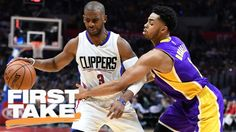 Domonique Foxworth believes that based on their young talent, the Lakers are in a better position to win an NBA title before the Clippers. Who Will Win, Best Positions, Espn, March, Mars