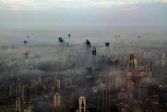 crane oper, shanghai tower, city photography, wei gensheng, urban landscape, place, weigensheng, china, photographi