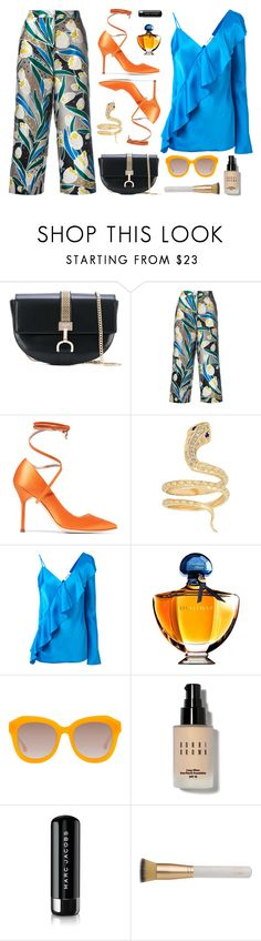 """Trending - Ruffles"" by cly88 ❤ liked on Polyvore featuring Lanvin, Rochas, Vetements, Iconery Basics, Diane Von Furstenberg, Guerlain, Alice + Olivia, Bobbi Brown Cosmetics, Marc Jacobs and Eve Lom"