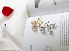 Bonny & Read 平價飾品 - 解讀你的心夾式耳環 / 2色  NT.172