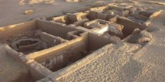 Clues found in a schoolroom adjacent to this upper-class house have shifted historians' concept of education in ancient Egypt. The site is Amheida, in the Dakhleh Oasis of Egypt's western desert.