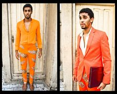 Colorful ensembles from Nigerian fashion house Orange Culture's 'Quirk' collection. Read more at https://www.ziba-style.com/blog
