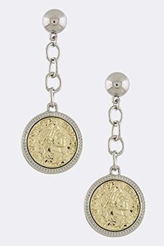 TRENDY FASHION JEWELRY RELIEF FIGURE DANGLE EARRINGS BY FASHION DESTINATION  SilverMulti -- Check out this great product. Note:It is Affiliate Link to Amazon.