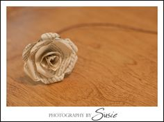 Paper roses from books or sheet music