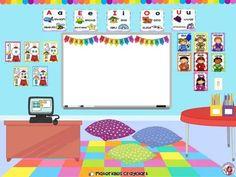 Student Binder Covers, Student Binders, Preschool Writing, Kindergarten Activities, School Classroom, Classroom Decor, Jean Piaget, Best Teacher Quotes, Classroom Background