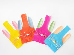 hello, Wonderful - ADORABLE DIY PAPER BUNNY TREAT BAGS