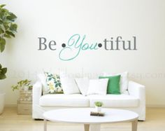 Create your own sunshine wall decal quote wall by ValdonImages