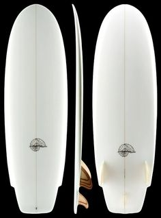 The beast my hollow wooden surfboard is based on.  Bauguess and Hydrodynamica.