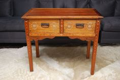 Exquisite Antique Console Table From the Philippines | From a unique collection of antique and modern console tables at http://www.1stdibs.com/furniture/tables/console-tables/