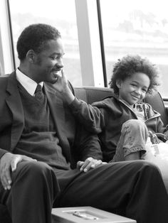 Will and Jaden Smith — 'The Pursuit of Happyness' and 'After Earth' Jaden Smith, Will Smith, Robin Williams, The Smiths, Film My Girl, Fathers Love, Father And Son, Clint Eastwood, Beautiful Boys