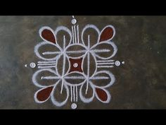 Indian Rangoli Designs, Rangoli Designs Latest, Simple Rangoli Designs Images, Rangoli Designs Flower, Rangoli Border Designs, Rangoli Designs With Dots, Flower Rangoli, Rangoli With Dots, Beautiful Rangoli Designs