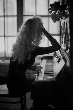 when I can't decide what to do, I go to the piano