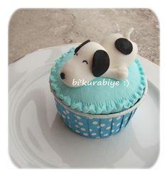 Snoopy... #snoopy #cupcake #birthday