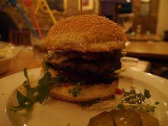 Guanabana's Messy Mexican Burger