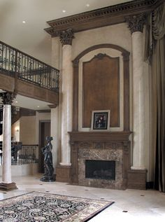fireplace architectural details