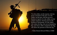 father denis edwards o'brien usmc quote - Google Search