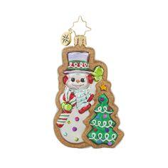 "Christopher Radko Ornament - ""Frosty Sweet Treat Gem"""