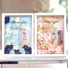 [プレ花嫁No1]結婚式で贈りたいギフト フラワー感謝ボード パリス 結婚式アイテムの通販【ファルベ】