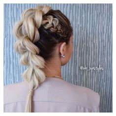 Instagram post by BRAIDS | UPDOS | INSPIRATION • Feb 10, 2017 at... ❤ liked on Polyvore featuring jewelry, earrings, braid jewelry, woven jewelry and woven earrings