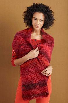 Maple Shade Wrap Pattern (Crochet)