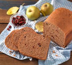 Unser Weihnachts-Rezept: Apfel-Cranberrybrot mit Weihnachtsgewürzen #Brotbackautomat