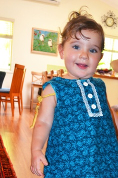 100 cotton handmade girls Aline winter by morningstardesigns2, $30.00