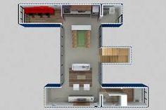 Resultado de imagem para plantas casa de container