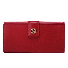 0db2f49926d0 Gucci · Branded WalletsGuccio GucciContinental WalletLuxury BagsRed  LeatherWallets ...