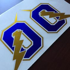 Check out these sweet custom chrome decals we printed! Get yours in time for camps & fall sports! #Sportdecals www.sportdecals.com