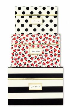 Christmas wish!!! Kate Spade nesting boxes from Swoozies! :)