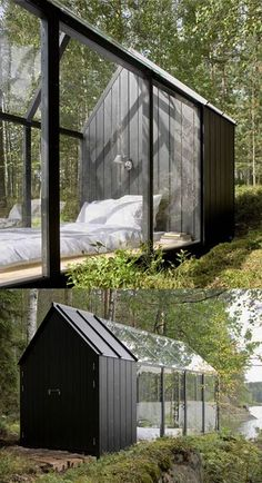 Sleeping cabin- very dreamy.