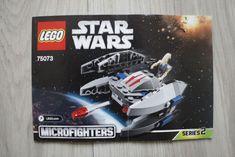 Lego 75073 INSTRUCTION BOOK Star Wars Vulture Droid #Lego Lego Instruction Books, Lego War, Lego Instructions, Vulture, Lego Building, Star Wars, Stars, Ebay, Sterne