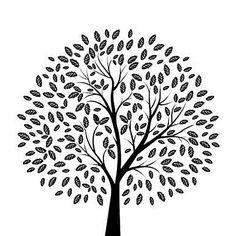 2I-PP Print Sqr -B Tree - Prints, All Things Designer